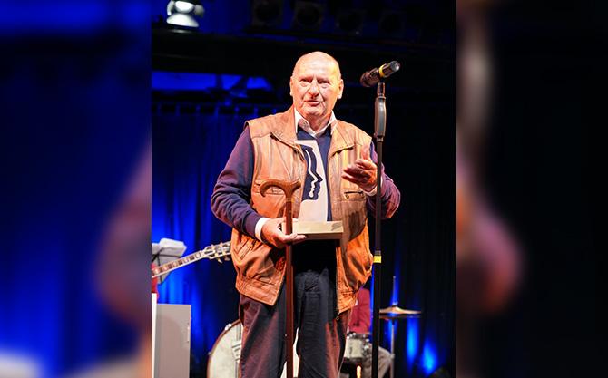 Friedrich G. Beckhaus wurde ebenfalls mit dem Ehrenpreise für das Lebenswerk ausgezeichnet